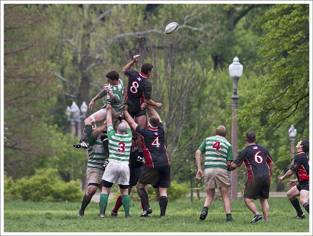 Rugby In Forest Park 1