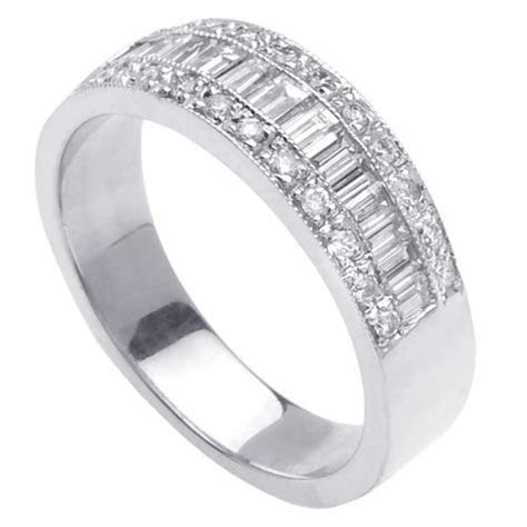 .60ct Channel Set Baguette Ladies Diamond Wedding Ring in