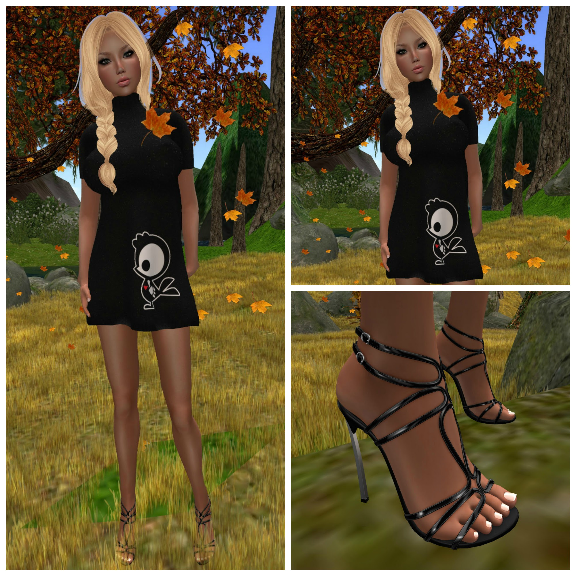 Bewbapalooza: ..:sexZ:.. Shirtdress/Peep/ feat [Gos] Isabella Sandals