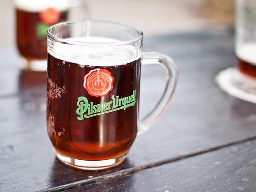 Czech beer garden