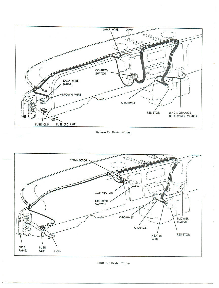 66 Chevy Truck Wiring Diagram