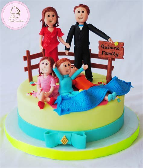 30th Anniversary Cake for Quimno Family ? AJ FOOD CREATIONS