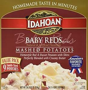 Amazon.com : IDAHOAN BABY REDS Gluten Free Instant Mashed ...