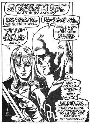 Daredevil #56 panel