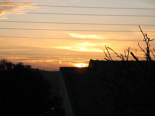 sunset after psalms