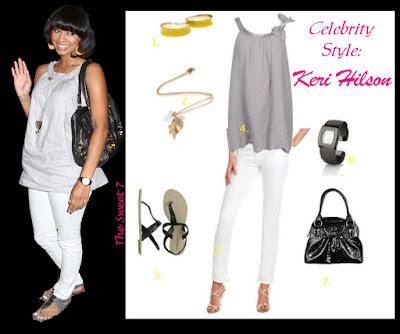 Celebrity Style: Keri Hilson