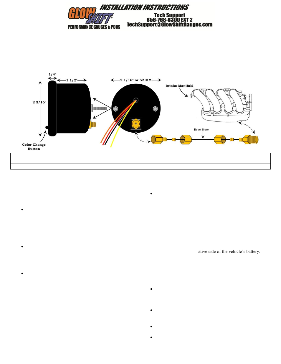 Wrx Glowshift Wiring Diagram