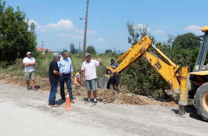 Άρτα: Προχωρούν οι εργασίες ύδρευσης στους Χαλκιάδες