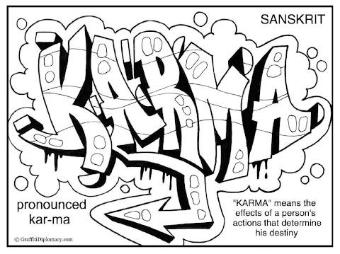 Graffiti Malvorlagen Word