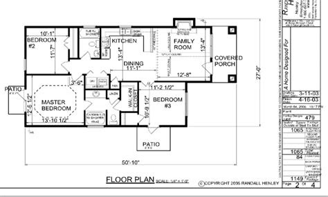 small  story house plans simple  story house floor