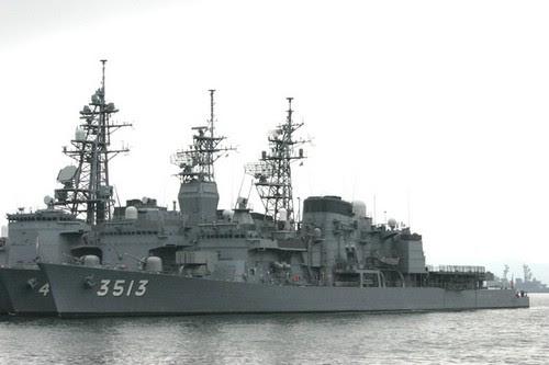 TV-3513/TV-3514秋云(Akigumo)号练习舰