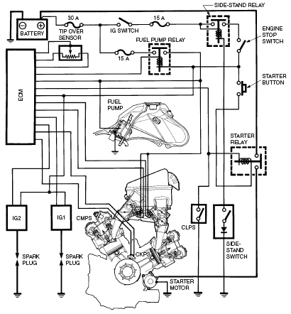 6 volt car wiring diagram sealed beam wiring diagram