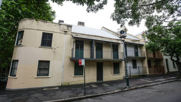 The apartments in Millers Point where long term public housing residents will be allowed to stay, as their historic terrace homes are sold for millions.