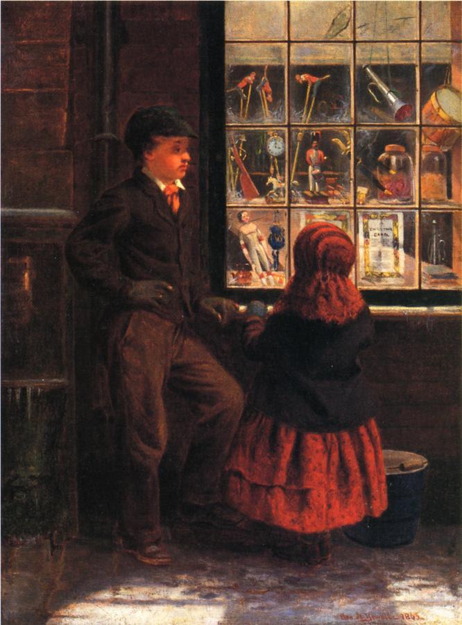 παραμονή Χριστουγέννων - George H.Yewell - 1863