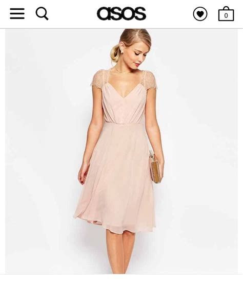 Dusty pink lace cap sleeve dress   My wedding may 2018