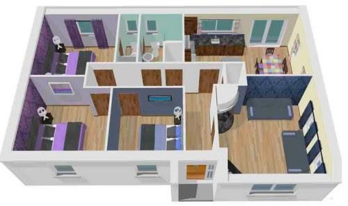 460+ Gambar Desain Rumah Kecil Sederhana 3 Kamar Gratis Terbaik Download
