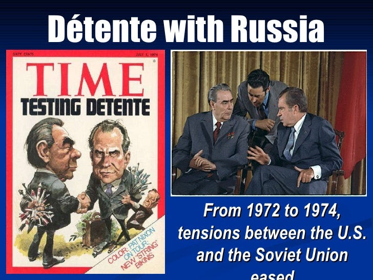 Image result for U.S.-Russia detente 1980 images