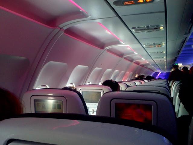 Virgin inaugural flight