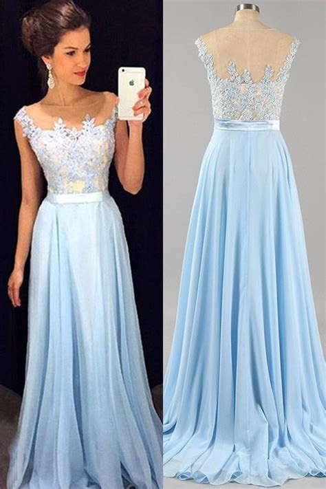 Best 25  Baby blue prom dresses ideas on Pinterest   Baby