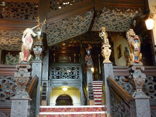Crewe Hall Staircase