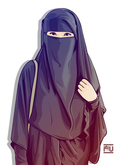 hijab vector niqab atahmadfu hijab vector anime