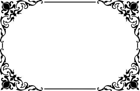 decorative border png transparent  images png