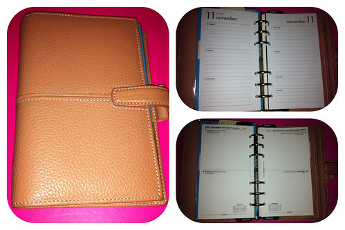 Finchley Vintage Pink - diary choices