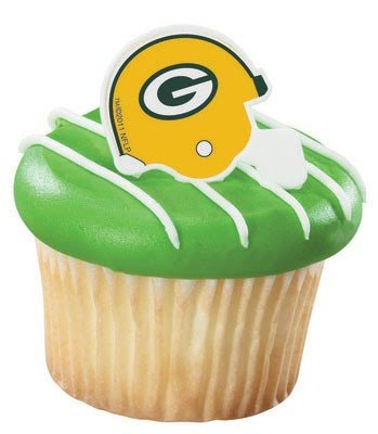 Green Bay Packers Cupcakes