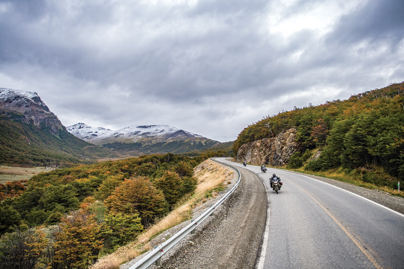 Riding a motorcycle through a whole spectrum of landscapes and ecosystems is what it's all about.