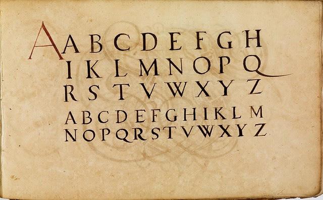 Kalligraphische Schriftvorlagen by Johann Hering r