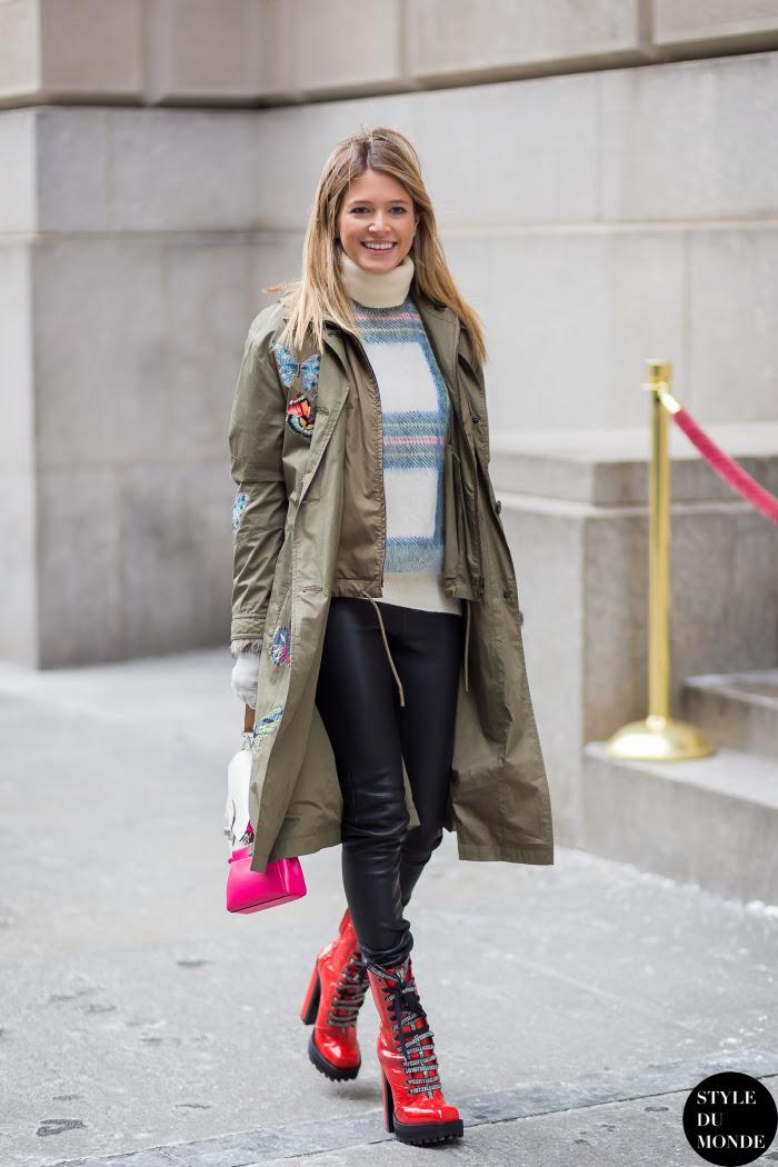 Helena Bordon Street Style Street Fashion Streetsnaps by STYLEDUMONDE Street Style Fashion Blog