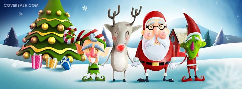 Merry Christmas Facebook Cover Coverbashcom