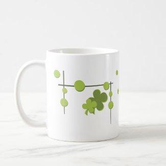 Snazzy Shamrock Design mug