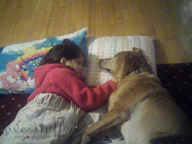 Chloe sleeping with Nina