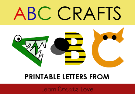 Printable Alphabet Letters For Crafts