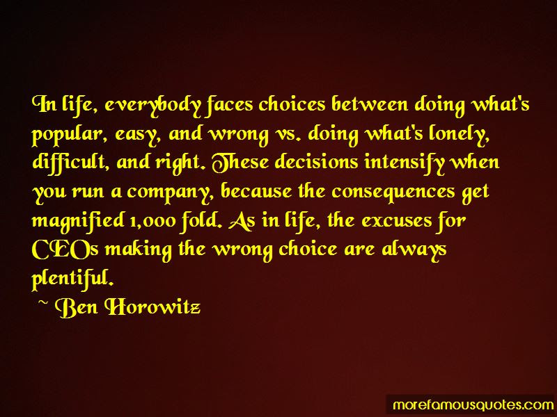 Quotes About Making Wrong Choices Top 23 Making Wrong Choices