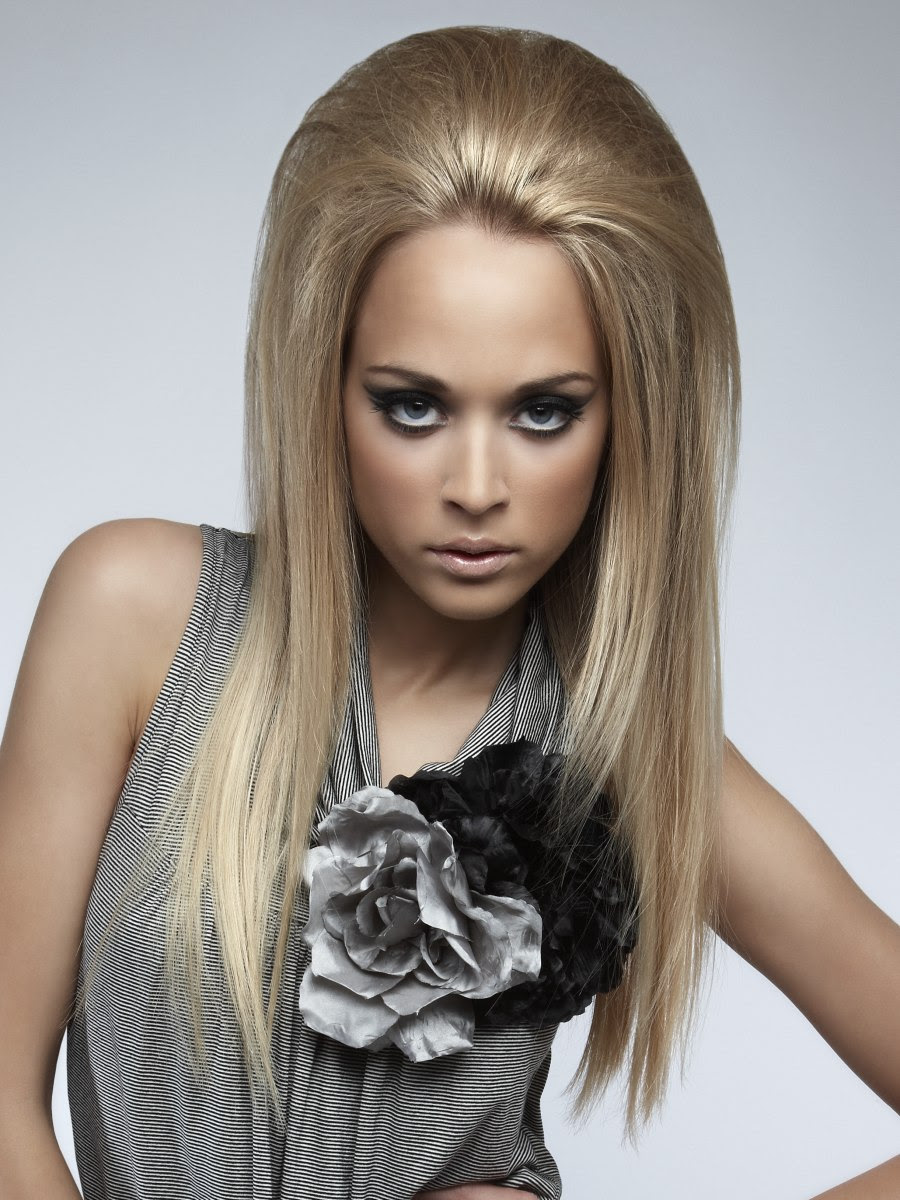 Long Blonde Hair Back View Cool Hairstyles