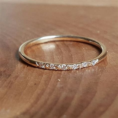 17 Best ideas about Thin Diamond Band on Pinterest