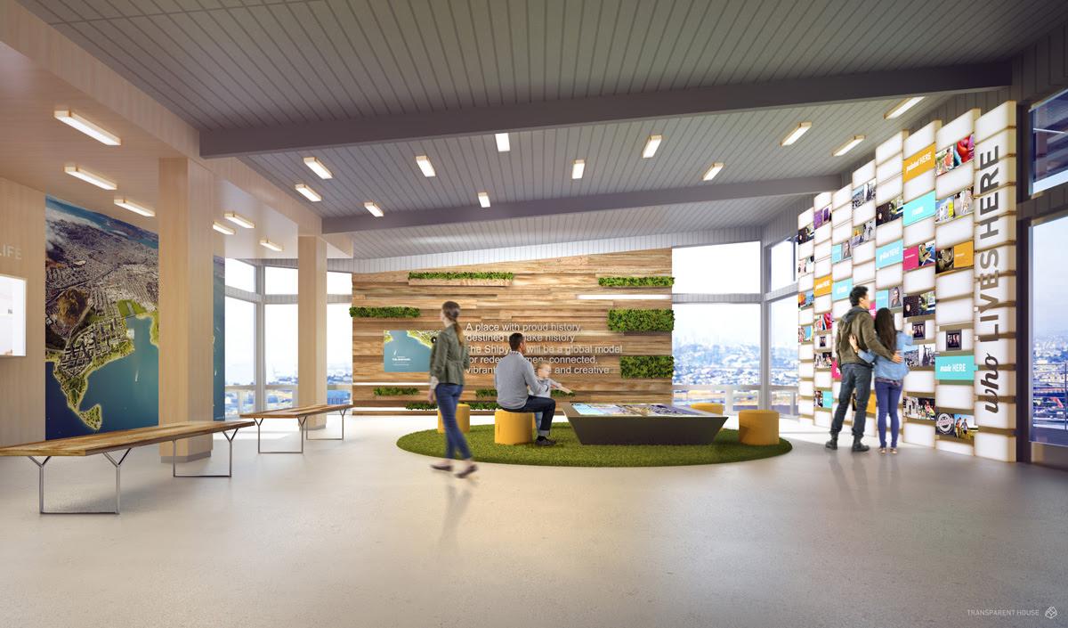 Gradient Matter » Shipyard SF Welcome Center