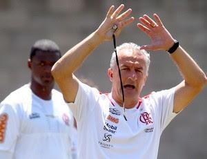 Dorival Junior no treino do Flamengo (Foto: Ivo Gonzalez / Agencia O Globo)