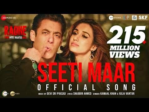 Seeti Maar | Salman Khan | Disha Patani