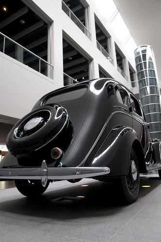 Toyota AA, Toyota Automobile Museum, Nagoya