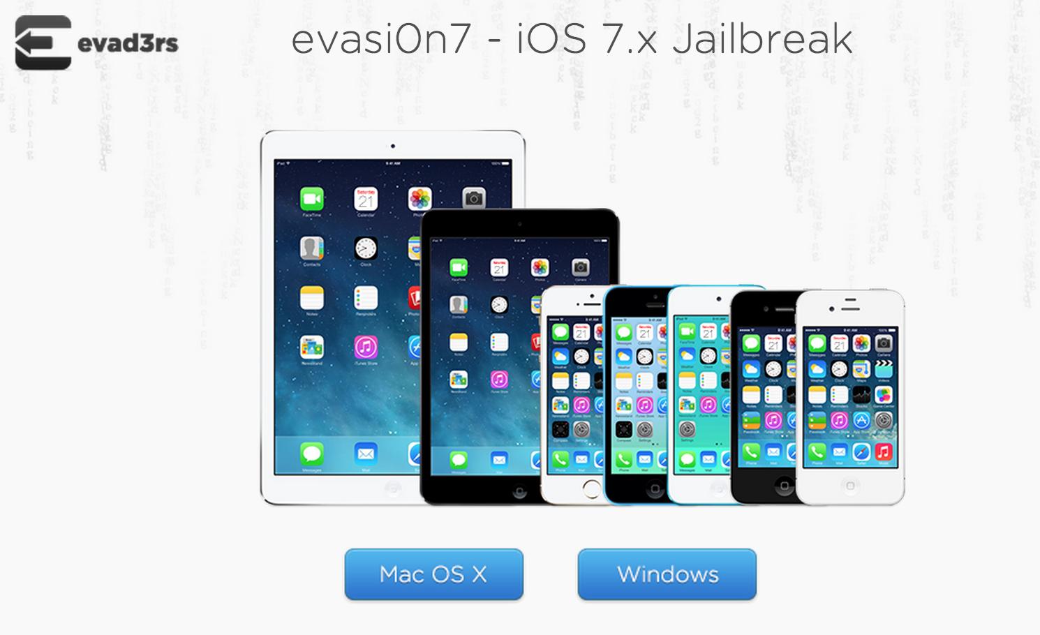 How to jailbreak iOS 7 using evasi0n7 Windows tutorial