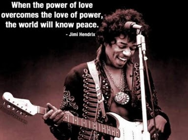 Jimi Hendrix Power of Love