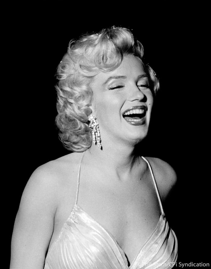 Marilyn Monroe at a Children's benefit at the Shrine Auditorium, 1953