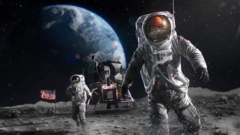 wallpaper astronauts nasa earth moon landing wallpapermaiden