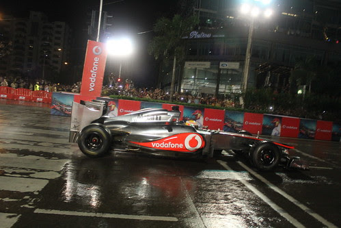 Lewis Hamilton # The Vodafonespeedfest at BKC 2012 by firoze shakir photographerno1