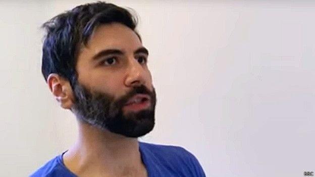 O americano Daryush Valizadeh, 36 anos, conhecido como Roosh V (Foto: BBC)