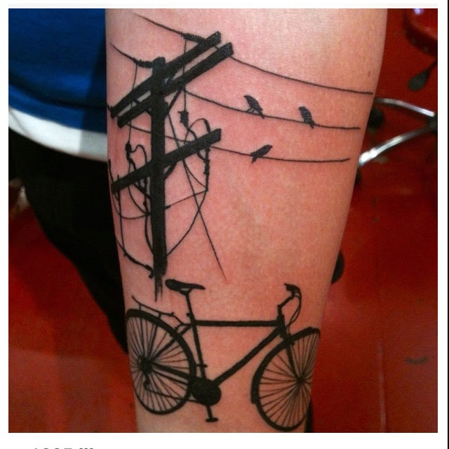 Birds On A Wire Tattoo Olivero