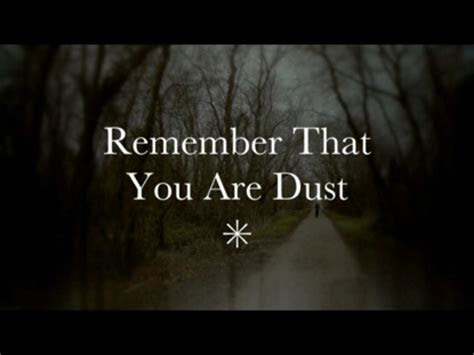 remember    dust  work   people
